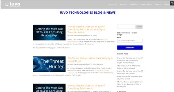iuvo Technologies Blog