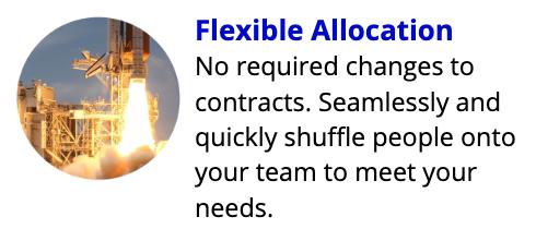 Flexible Allocation